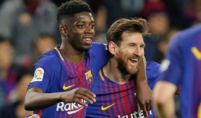 Messi Tidak Dapat Mengejar Kecepatan Yang Dimiliki Dembele
