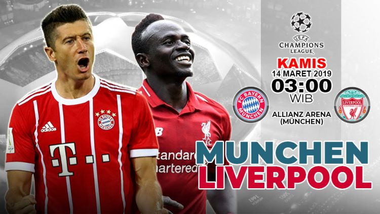 Sang Club Raksasa Liverpool Dikabarkan Akan Menjamu Ke Tuan Rumah Club Bayern Munchen Pada Leg Kedua Liga Champions