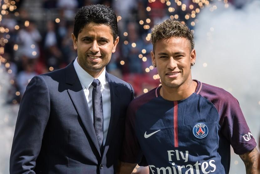 presiden-paris-saint-germain-nasser-al-khelaifi-kiri-dan-neymar-jr-