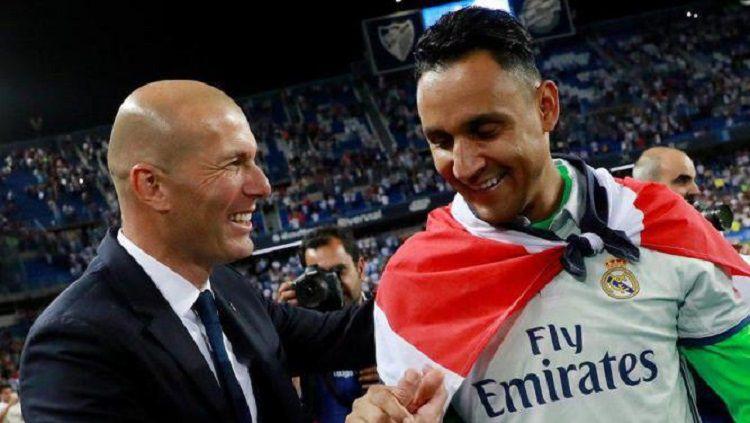 Sang Manajer Zidane-Zidane Yang Dikabarkan Dirinya Yang Bisa Memutuskan Masa Depan Keylor Navas DI Real Madrid