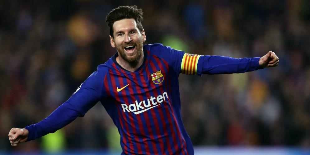 Lionel Messi Ingin Gantung Sepatu Di Newll's Old Boys