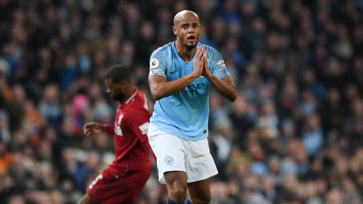 Manchester City Mencari Pengganti Vincent Kompany