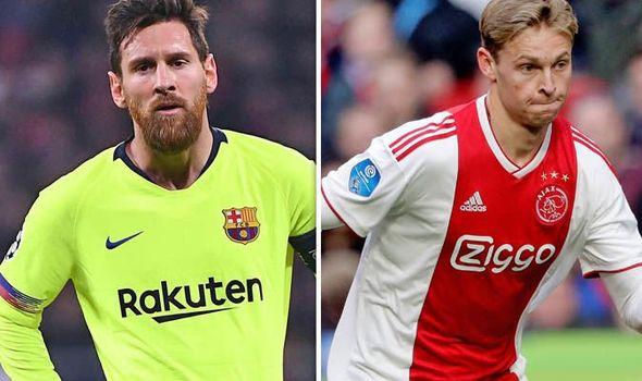 Messi Memuji : De Jong pasti akan berkembang banyak di FC Barcelona