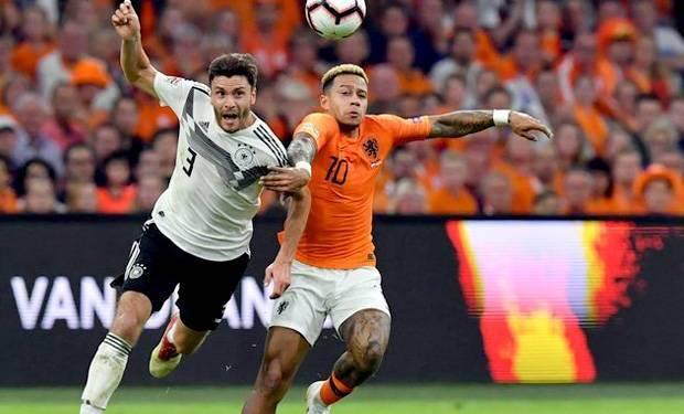 Tim Belanda mulai dengan Promes dan Babel dalam pertandingan kualifikasi Kejuaraan Eropa dengan Jerman