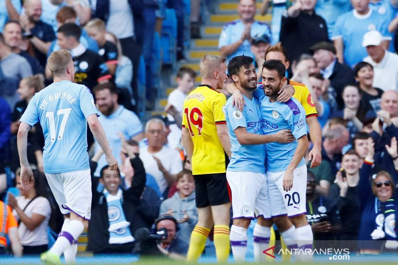 Manchester City Kembali Pesta Gool Saat Menghadapi Club Watforf