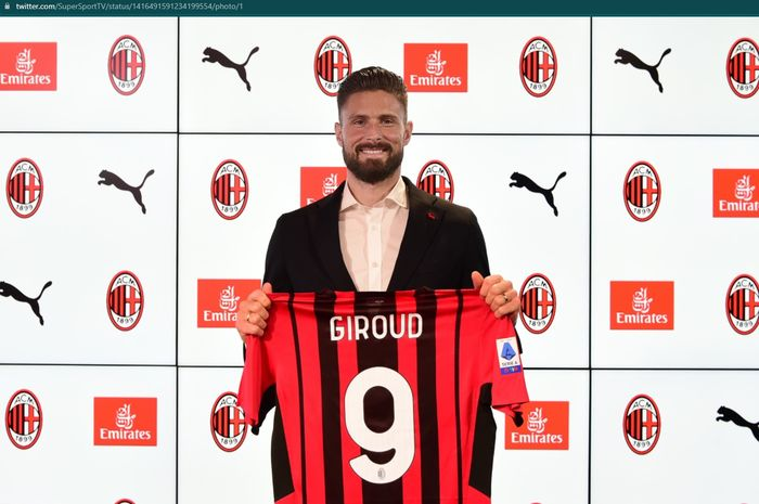 Duet Maut Giroud Dan Ibra Di Lini Depan AC Milan